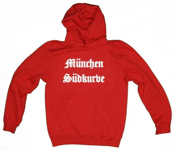 Südkurve München Pullover in rot , Suedkurven Fanartikel