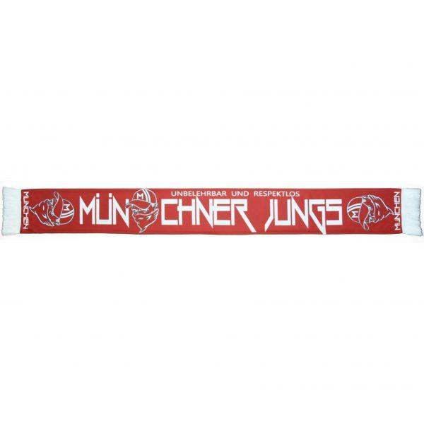 "Schal "" Münchner Jungs - unbelehrbar .. """