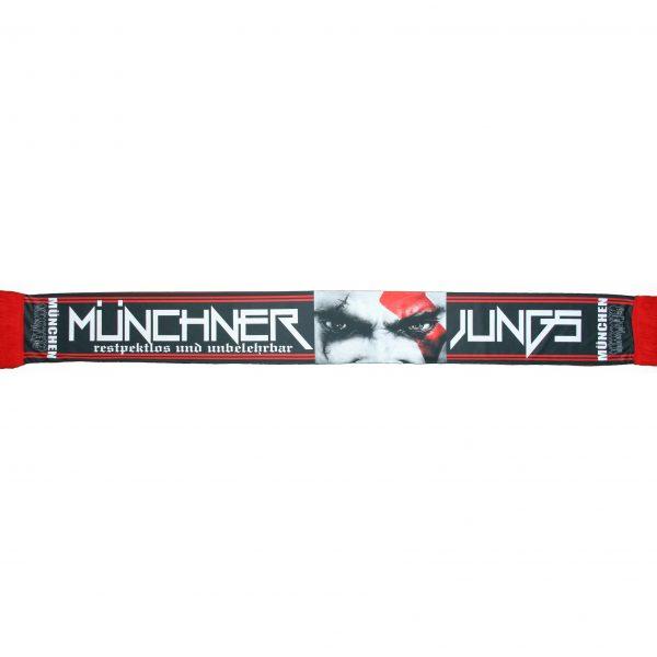 """Seiden-Schal """" Münchner Jungs """""""