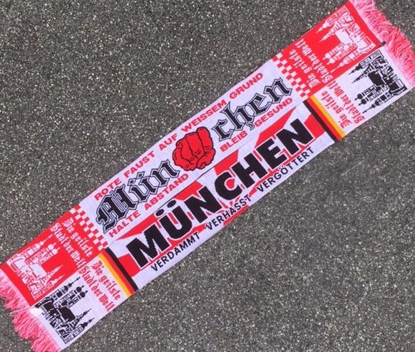 Bayern Schal, München Schal.