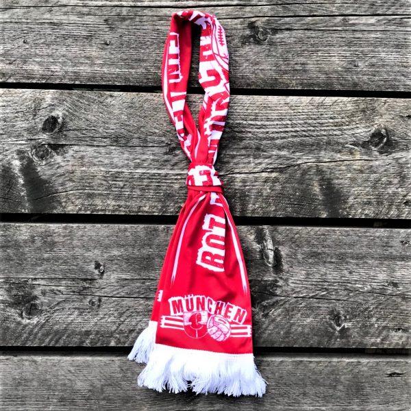 FC Bayern Schal, FC Bayern Seidenschal. Südkurve München