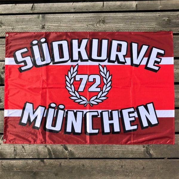 Zaunfahne Südkurve München