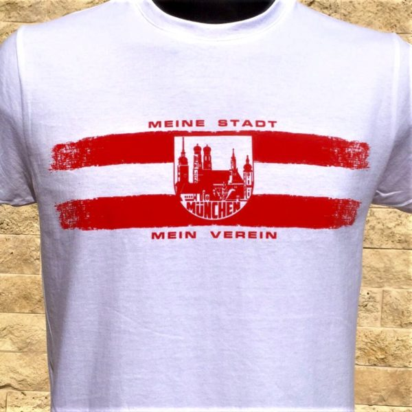 """T-Shirt """"MÜNCHEN MEINE STADT MEIN VEREIN"""" Bayern München T-Shirt"""
