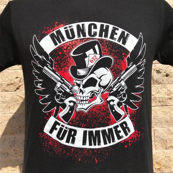 München T-Shirt, Ultrasa München, Bayern T-Shirt, Allianz Arena, Südkurve München